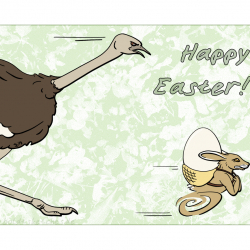 Greeting Card: Happy Easter 2018